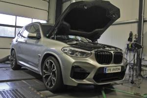DTE Systems BMW X3 M Power SUV Topmodell Tuning Leistungssteigerung