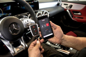 DTE Systems PedalBox App Mercedes A35 AMG