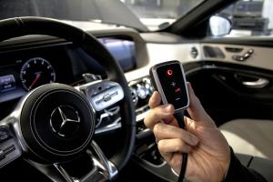 Mercedes-Benz im S 450 EQ von DTE Systems