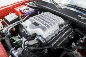 Dodge Challenger SRT Super Stock Muscle Car Neuheit Topmodell Drag Racing Kompressor-HEMI-V8