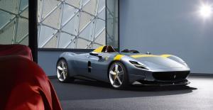 Ferrari Monza SP1 Neuheit Sportwagen Barchetta