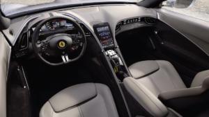 Ferrari Roma Neuheit Vorstellung Sportwagen Coupé Retro