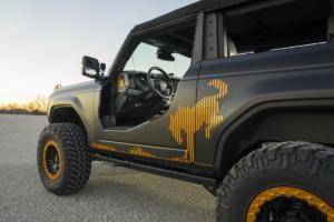 Ford Bronco Badlands Sasquatch 2-Door Concept Offroader Studie Ford Auto Nighs SEMA Show Special 2020