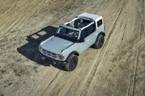 Ford Bronco Geländewagen Allradler Neuheit US-Car Viertürer