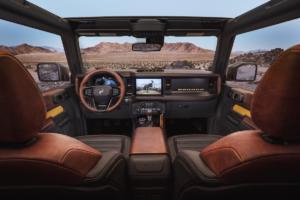 Ford Bronco Geländewagen Allradler Neuheit US-Car Zweitürer