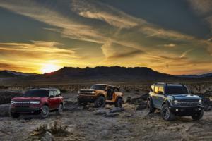 Ford Bronco Geländewagen Allradler Neuheit US-Car Zweitürer Viertürer Sport