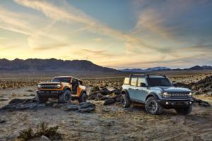 Ford Bronco Geländewagen Allradler Neuheit US-Car Zweitürer Viertürer