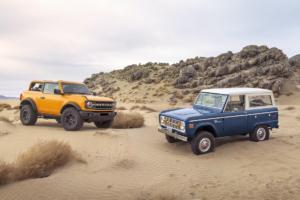 Ford Bronco Geländewagen Allradler Neuheit US-Car Zweitürer mit erster Generation