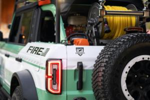 Ford Bronco + Filson Wildland Fire Rig Concept Studie Geländewagen Wald-Feuerwehrauto