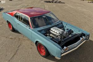 Ford Galaxie 60er Jahre Coupé US-Car Restomod Rendering Abimelec Design