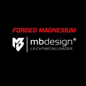 Forged Magnesium-Felgen von mbDESIGN