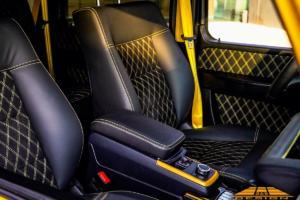 G&B Design Mercedes G-Klasse W463a Widebody-Kit G-Boss Felgen Räder Innenraum Veredlung