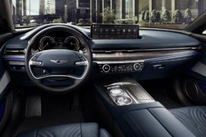 Genesis G80 Neuheit Fließheck-Limousine obere Mittelklasse Premiere