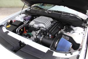 Grill & BBQ Store Oberleiter.Racing Team Dodge Challenger SRT Hellcat Drag Racer Leistungssteigerung Muscle Car US-Car Coupé