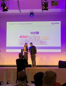 H&R Fahrwerk Tuning Gewinner Premio Best Brand Award 2018