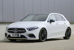 H&R Mercedes A 250 Tieferlegung Fahrwerksfedern Spurverbreiterung Tuning