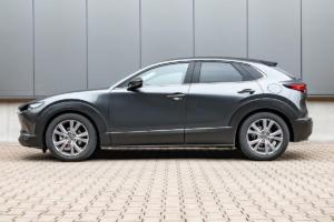 H&R Mazda CX-30 SUV Sportfedern Tieferlegung Spurverbreiterungen