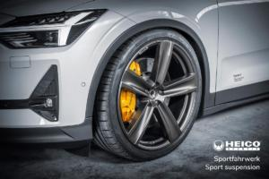 Heico Sportiv Polestar 2 Tuning Tieferlegung Sportfahrwerk Elektroauto