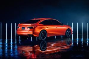 Honda Civic Limousine 2022 Prototype Neuheit Vorstellung Teaser Ausblick