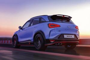Hyundai Nexo N Rendering Aprilscherz SUV Topmodell