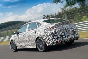 Hyundai i30 Fastback N Preview Ankündigung 2018 Nürburgring Erlkönig