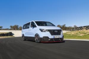 Hyundai iMax N Drift Bus Achtsitzer Sportmodell Australien Einzelstück H-1 Travel