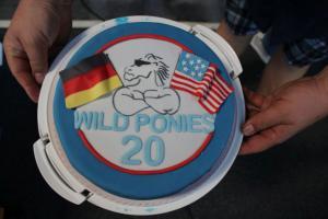 Wild Ponies werden 20 Treffen Mustang