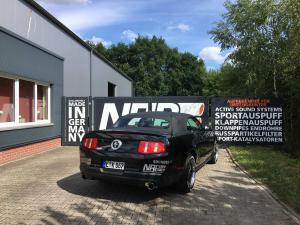 Mustang Auspuff NAP
