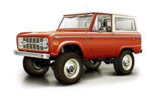 Icon 4x4 Old School BR Ford Bronco Versteigerung Charity Auktion Autotype Design