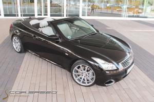 Infiniti G37 Cabrio mit Deville-Rädern