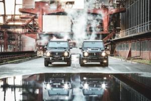 Invicto VR6 Plus ERV Sonderschutzfahrzeug Panzerwagen Mercedes-Benz W463A G-Klasse Brabus
