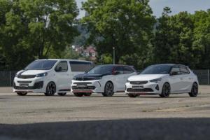 Irmscher Weiße Flotte Neuauflage Corsa Mokka Zafira Tuning Felgen Bodykit Leistungssteigerung