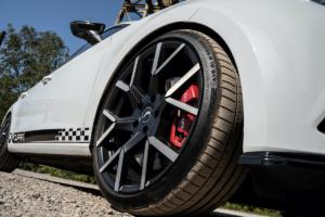 JMS Fahrzeugteile Seat Leon Cupra ST Typ 5F Tuning Barracuda Racing Wheels Tzunamee EVO Felgen Tieferlegung Bodykit Premio Oberhausen