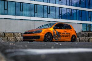 JMS VW Golf GTI mit Ultralight Project 3.0 auf der Essen Motor Show
