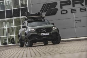Mercedes-Benz X 250 d von Prior Designaerodynamik-kit mercedes x-klasse FR Kopie