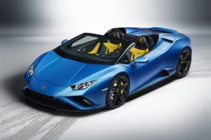 Lamborghini Huracán EVO RWD Spyder Mittelmotor Sportwagen Heckantrieb V10 Neuheit