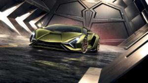 Lamborghini Sián Hybrid Supersportler Premiere Neuheit IAA 2019