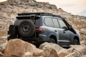 Lexus J201 Concept LX 570 Allradler 4x4 Offroader Studie Rebelle Rally