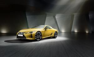 Lexus LC Yellow Edition Coupé Autosalon Paris