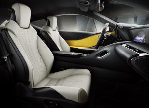 Lexus LC Yellow Edition Coupé Autosalon Paris