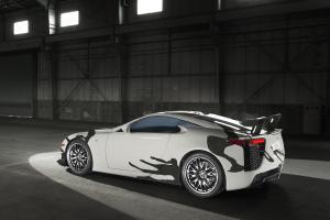 Lexus LFA Sportwagen Artcar 24-h-Rennen Spa