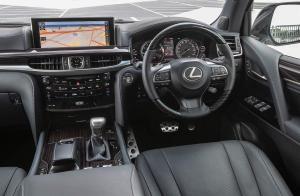 Lexus LX 570 S Geländewagen Allradler Australien