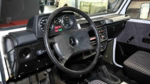 Lorinser G-Klasse Feuerwehr Cockpit Kopie
