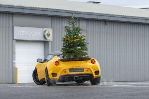 Lotus Evora GT410 Sportcoupé Weihnachten Christmas Neujahr Festtage Drift Hethal Werksgelände