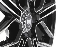 Lumma CLR LR 19 GT Felge Neuheit 19 Zoll Leichtmetallrad schwarz frontpoliert
