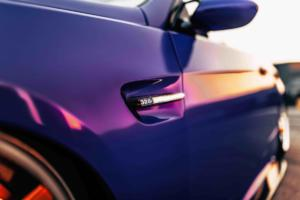 BMW E93 328i Cabriolet lila