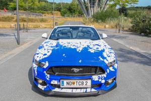 M&D Exclusive Cardesign Ford Mustang GT Convertible Tuning Felgen Fahrwerk Folie Abgasanlage Cabrio