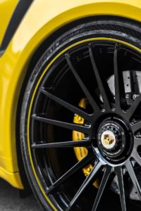 Manhart Performance TR 850 Porsche 911 Turbo S 991.2 Tuning Leistungssteigerung Felgen Folierung Tieferlegung