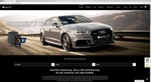 Maxchip Chiptuning Zusatzsteuergerät Tuningbox universell Künstliche Intelligenz Webseite