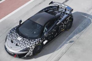 McLaren 620R Mittelmotor Sportwagen Sondermodell Racing